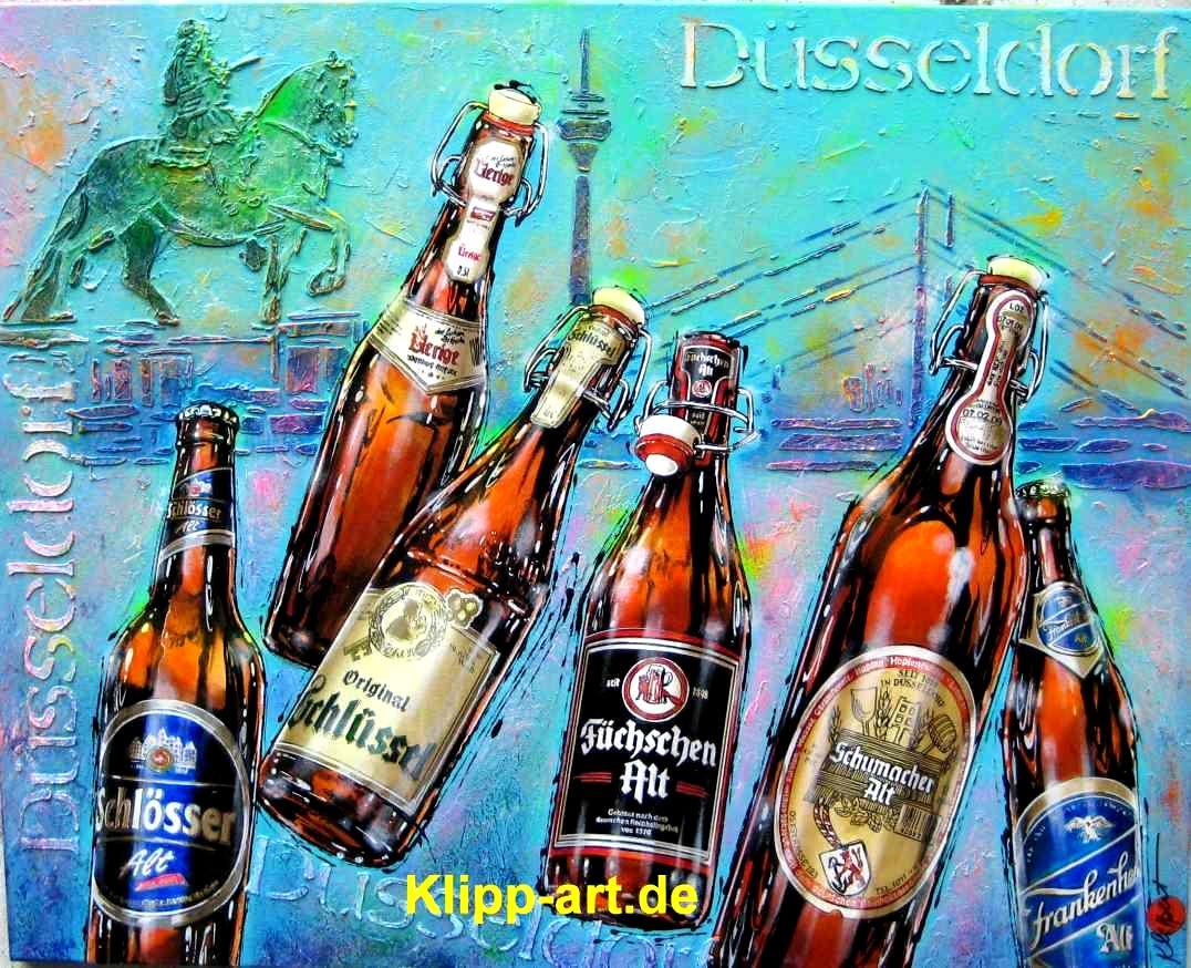 Dusseldorf Altstadt Galerie Bilder Kunst Bild Auf Leinwand