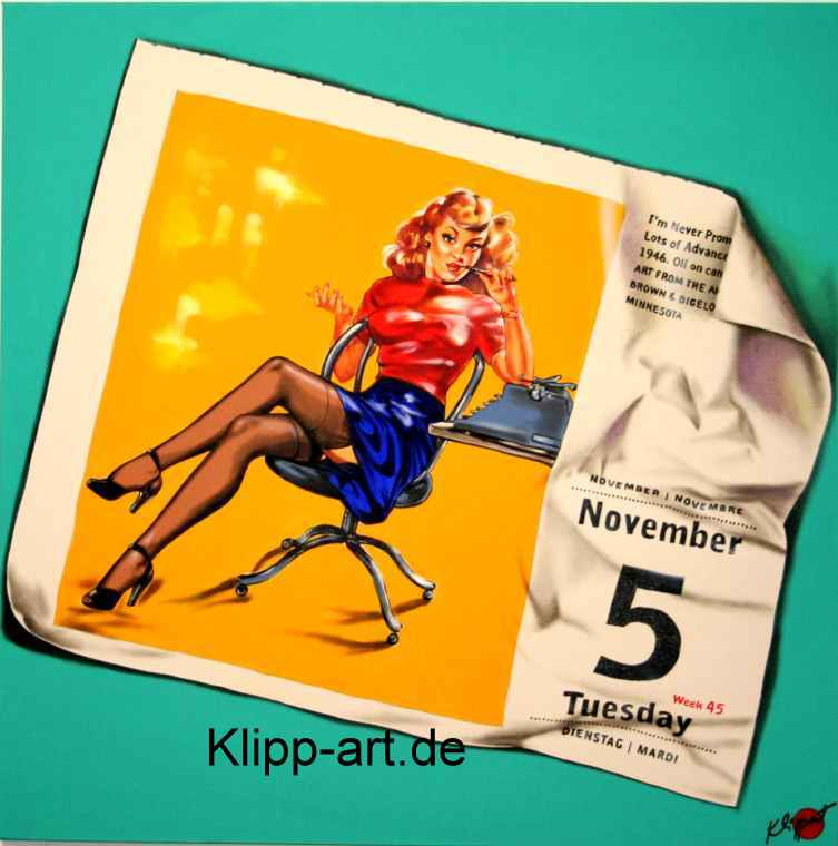 pop art duesseldorf pin-up girl