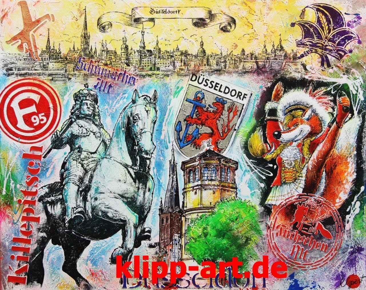 collage galerie duesseldorf klipp art pop