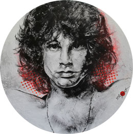 Jim Morrison pop art duesseldorf klipp-art