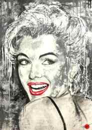 marilyn monroe pop art duesseldorf klipp-art