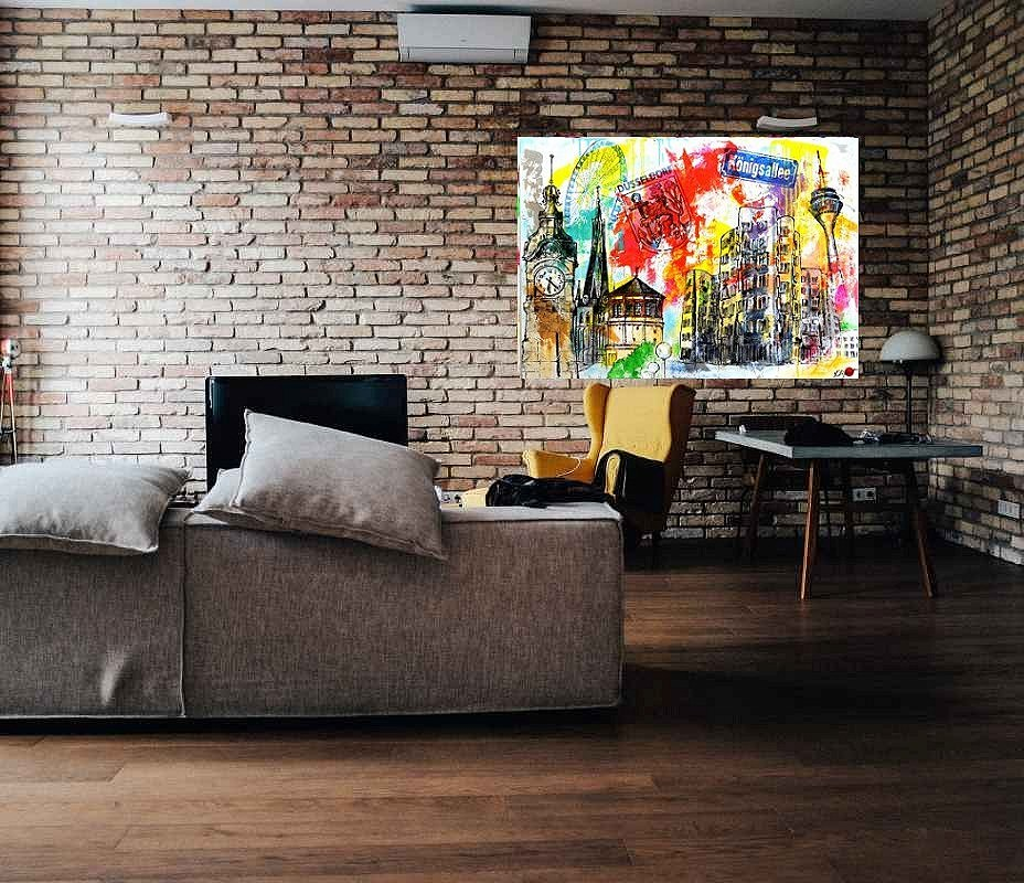 Galerie Düsseldorf Collage Im Pop Art Stil